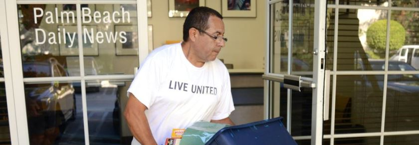 Palm Beach Daily News Food Drive for Adopt A Family