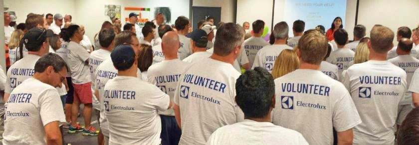 Electrolux Supports Feeding South Florida