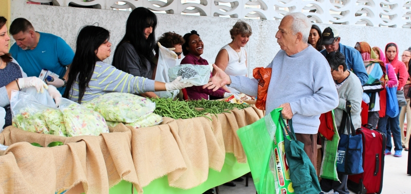 Hunger Common Among Older Adults in South Florida