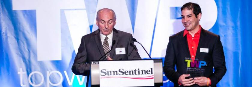 FSF CEO, Paco  Vélez, Wins Sun-Sentinel's Top Workplaces Award