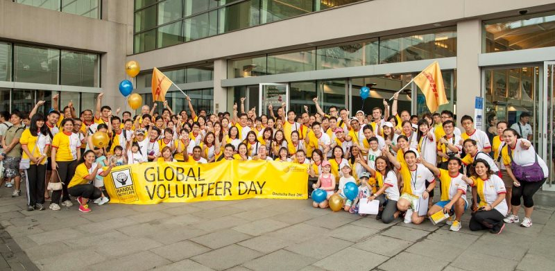 Deutsche Post DHL Mobilizes Its Employees for Global Volunteer Day