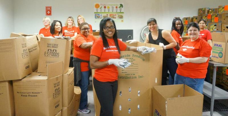 Volunteers Fight to Stop Hunger All Day and All Night with 24-Hour Sort-A-Thon