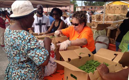 Agencies Team Up to Distribute Food in Belle Glade