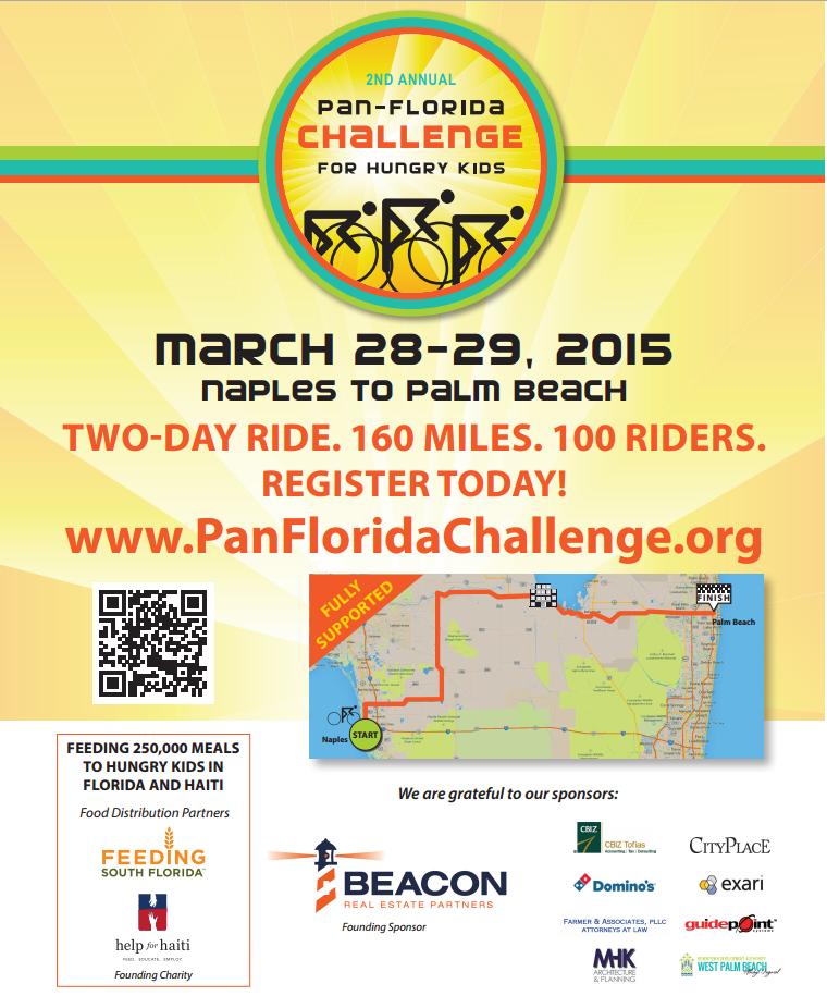 Pan-Florida Challenge for Hungry Kids Event Benefits Feeding South Florida