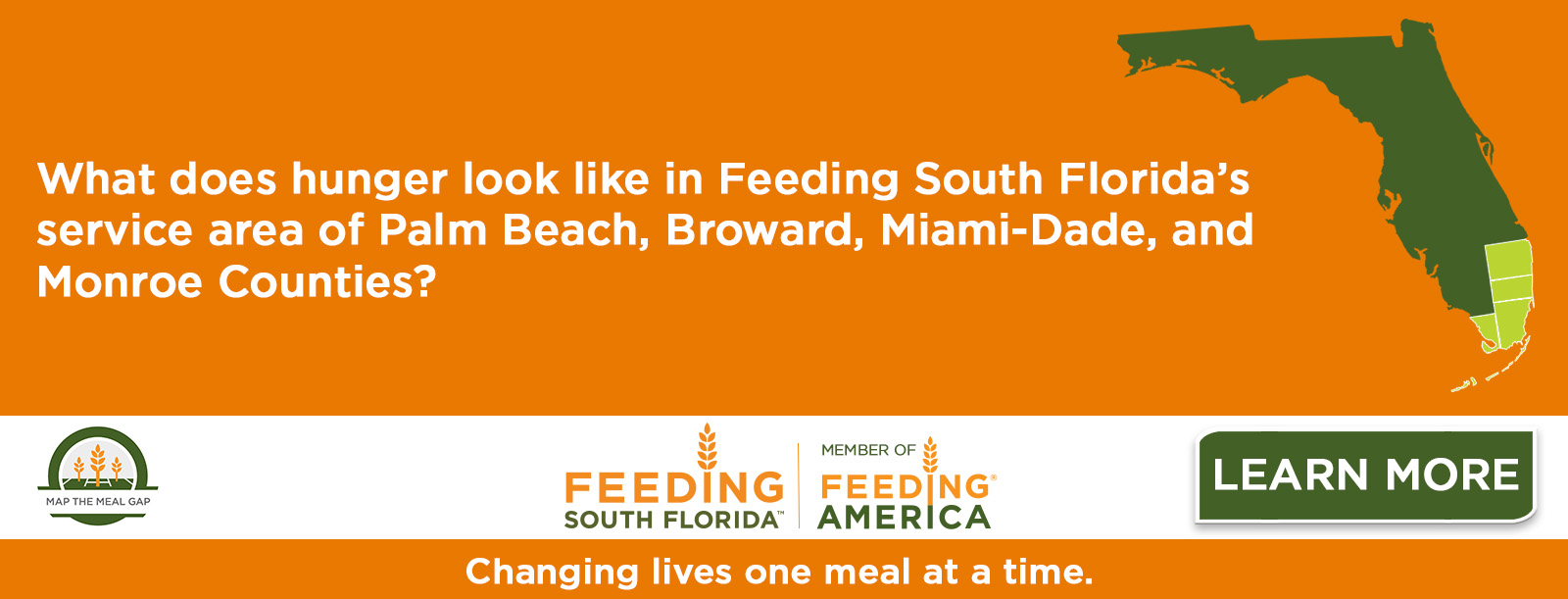 Food Insecurity in South Florida – Updated Map the Meal Gap Analysis Released