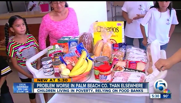 Palm Beach County & Feeding South Florida Seeing Growth in Children Living in Poverty