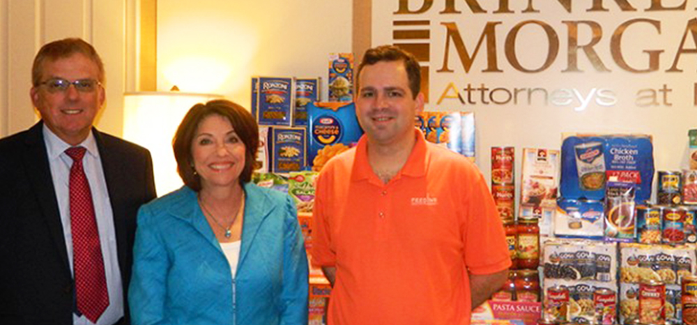 Brinkley Morgan Hosts Summer Food Drive for Feeding South Florida