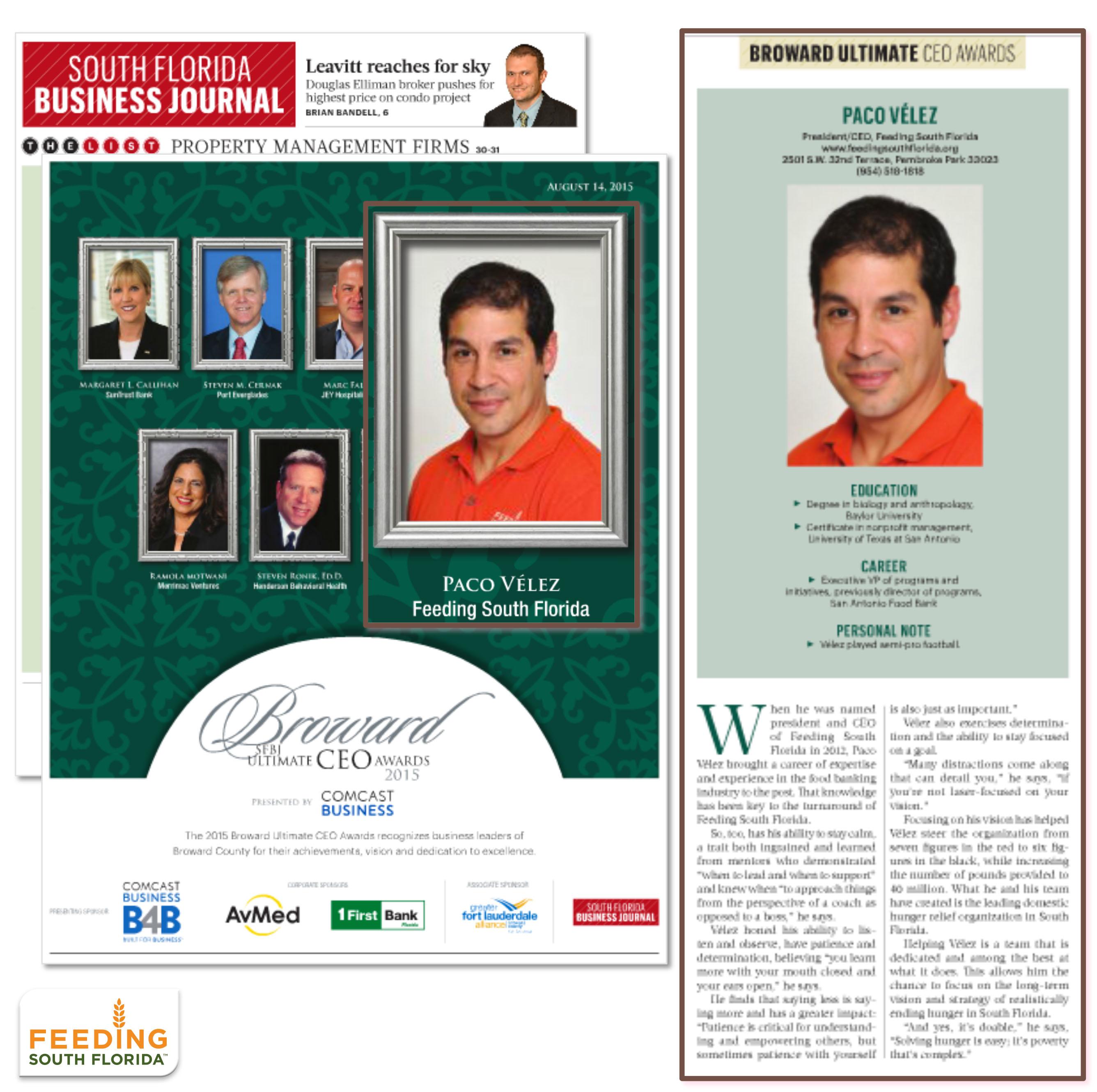 Microsoft Word - South Florida Business Journal - Feeding South