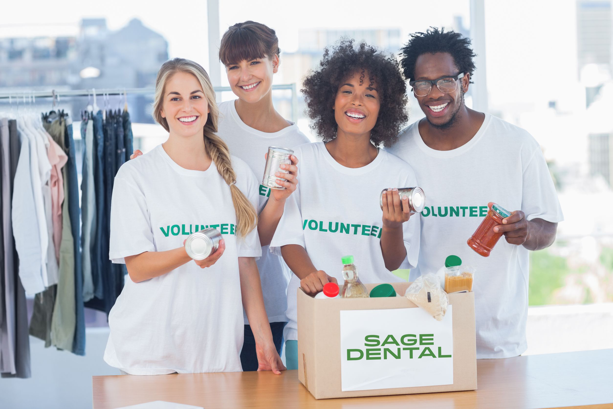 Sage Dental Partners with Feeding South Florida to End Hunger
