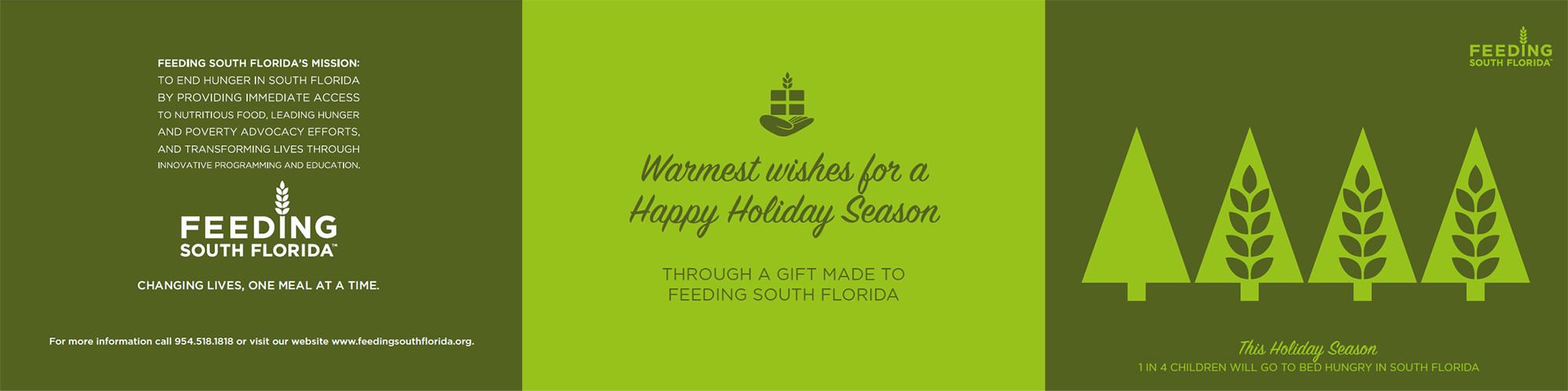 Holiday cards 12 pack feeding south florida holiday cards 12 pack kristyandbryce Choice Image