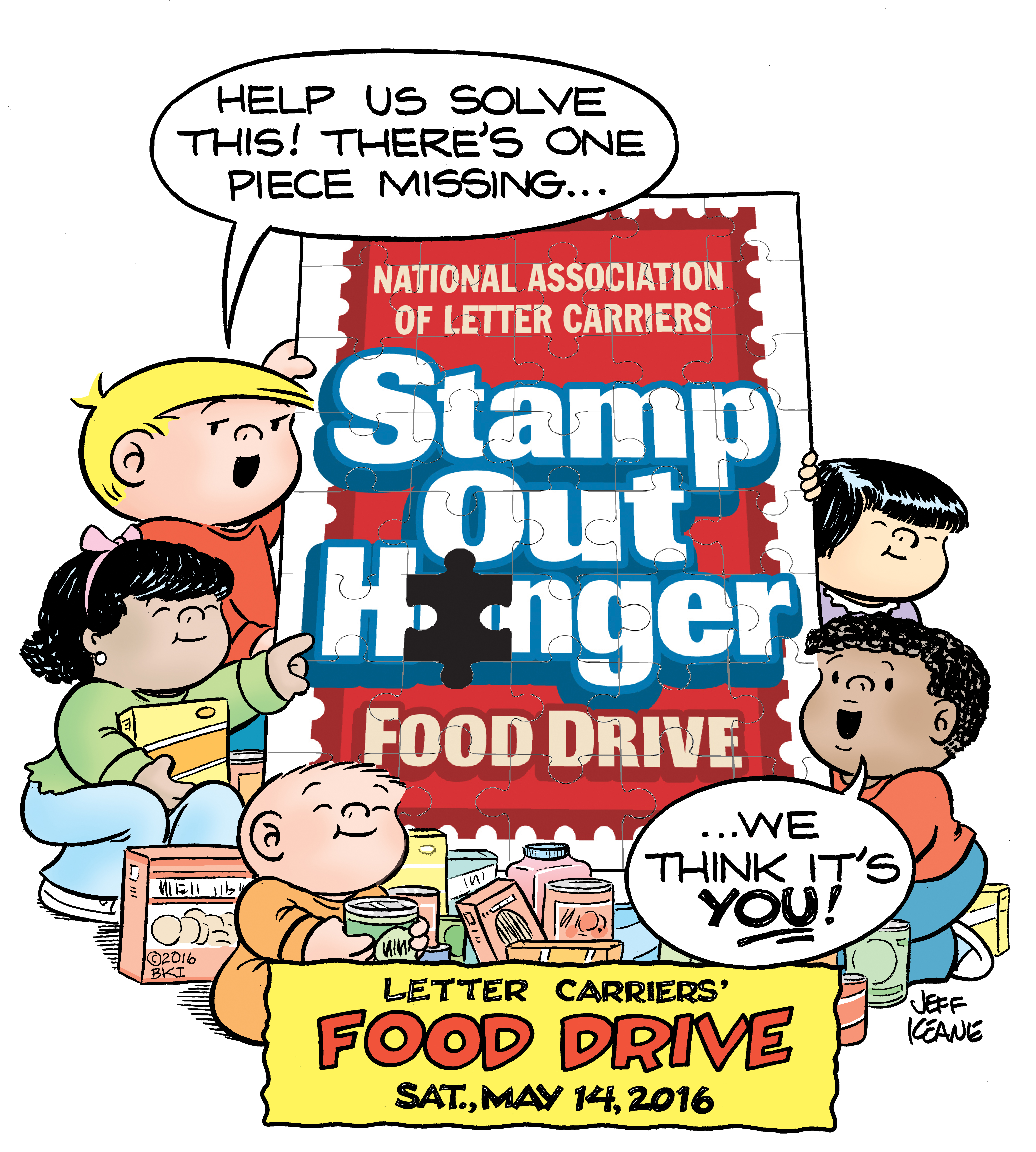 Feeding Palm Beach County® Joins National Association of Letter Carriers  to Participate in 24th Annual Stamp Out Hunger on May 14