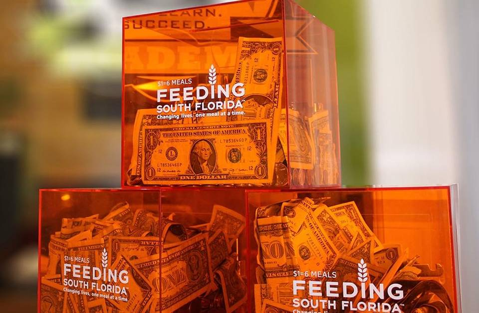 Miami shows support to Feeding South Florida During Give Miami Day
