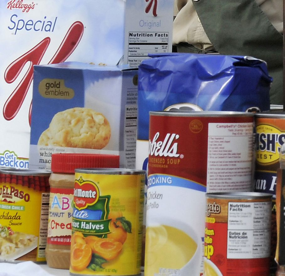 Empty Your Pantry Food Drive starts today