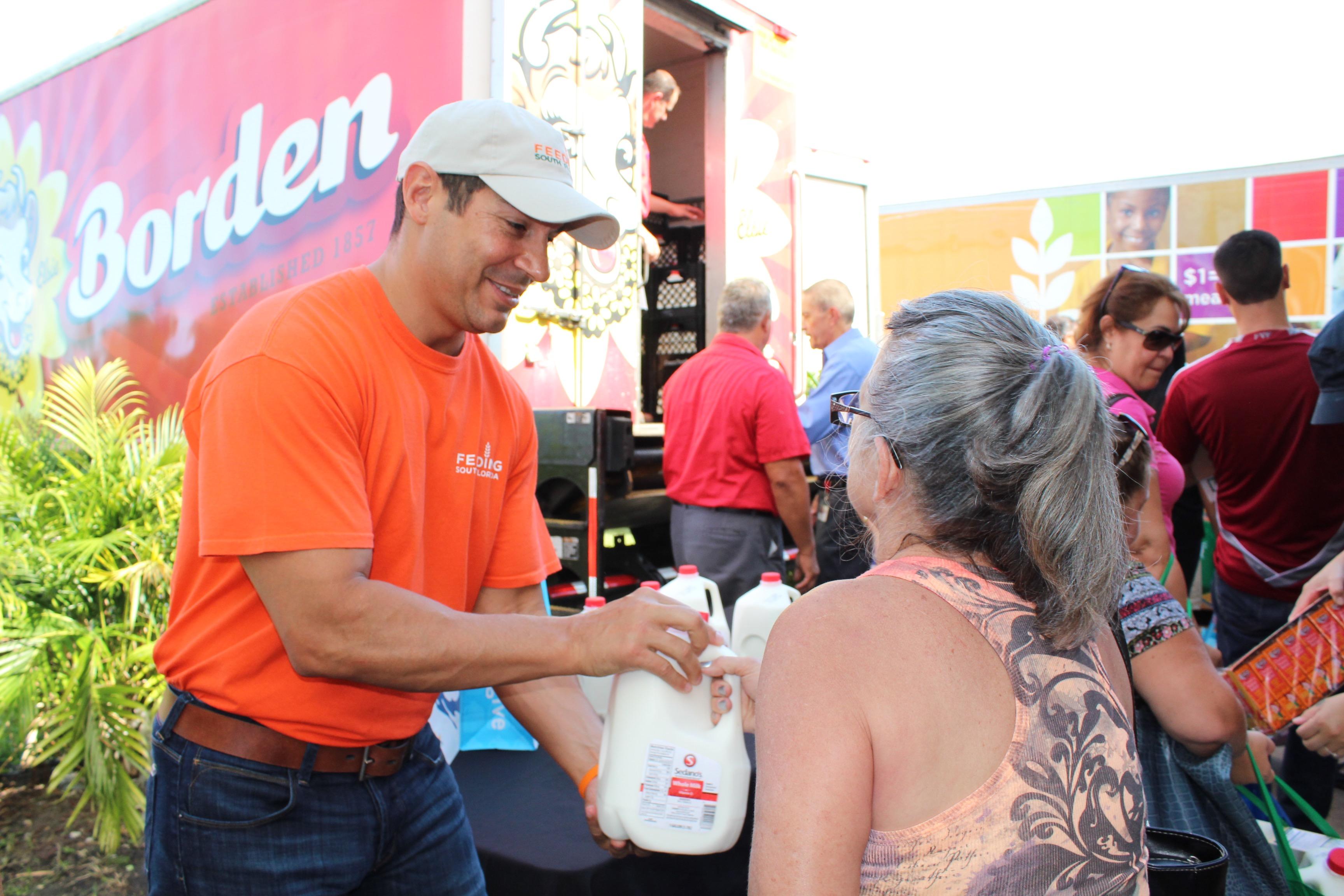 Feeding South Florida receives 6,000 gallons of milk