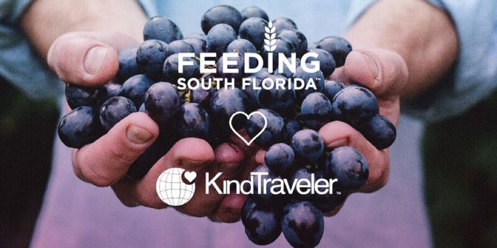 Feeding South Florida Joins Kind Traveler To Empower Travelers To Do Good