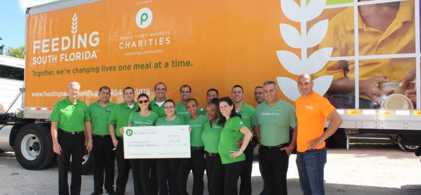 Publix Charities donates $200K to Feeding South Florida