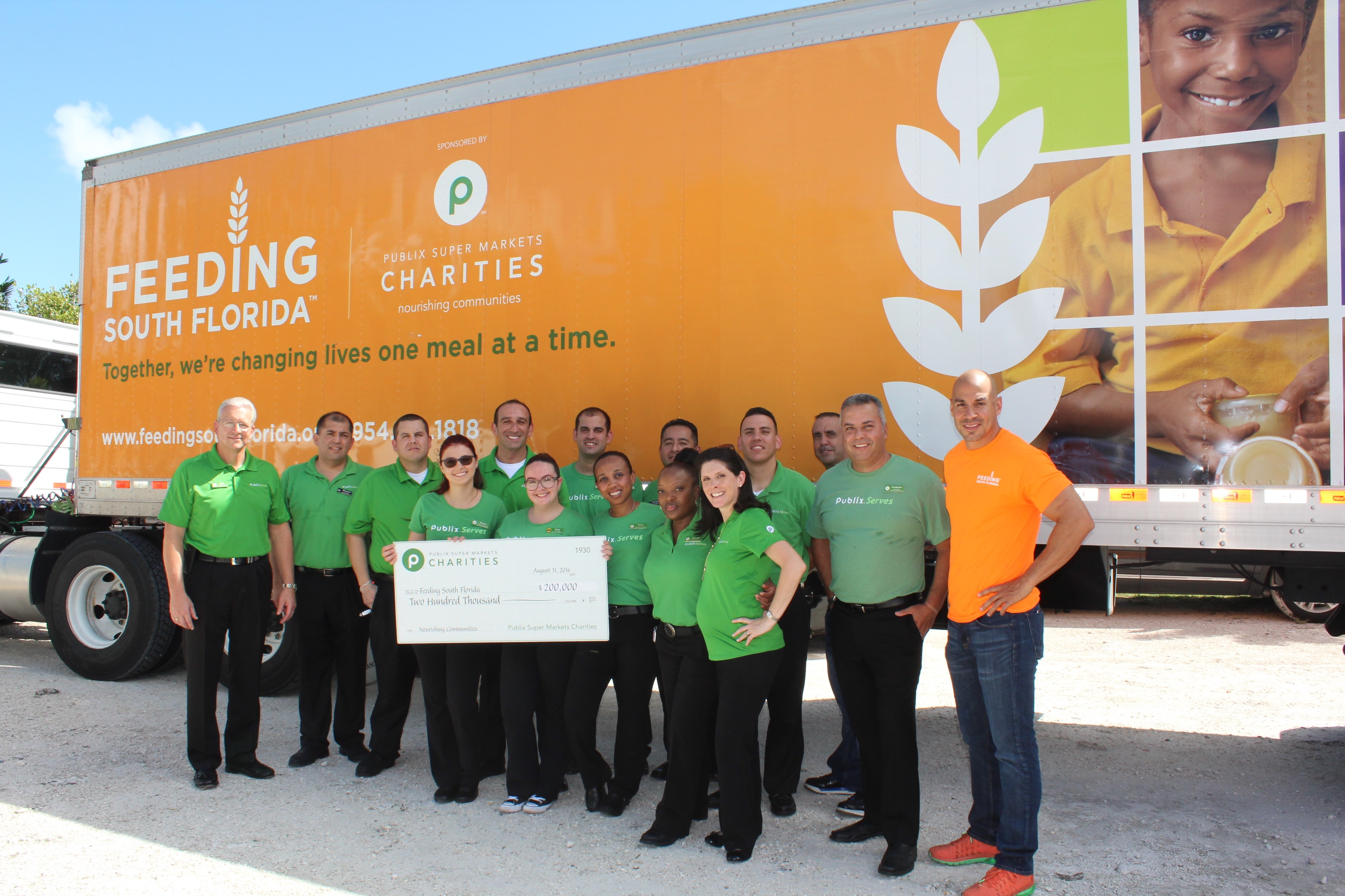 Publix Charities donates $200K to Feeding South Florida