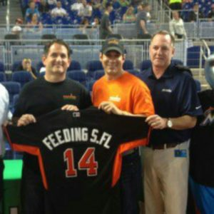 Marlins Foundation Awards $100,000 Gift to Feeding South Florida