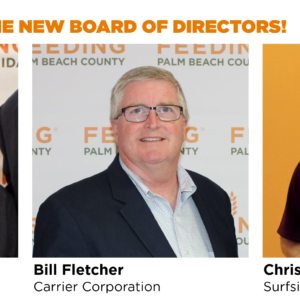 Feeding South Florida Appoints Three New Members to its Board of Directors