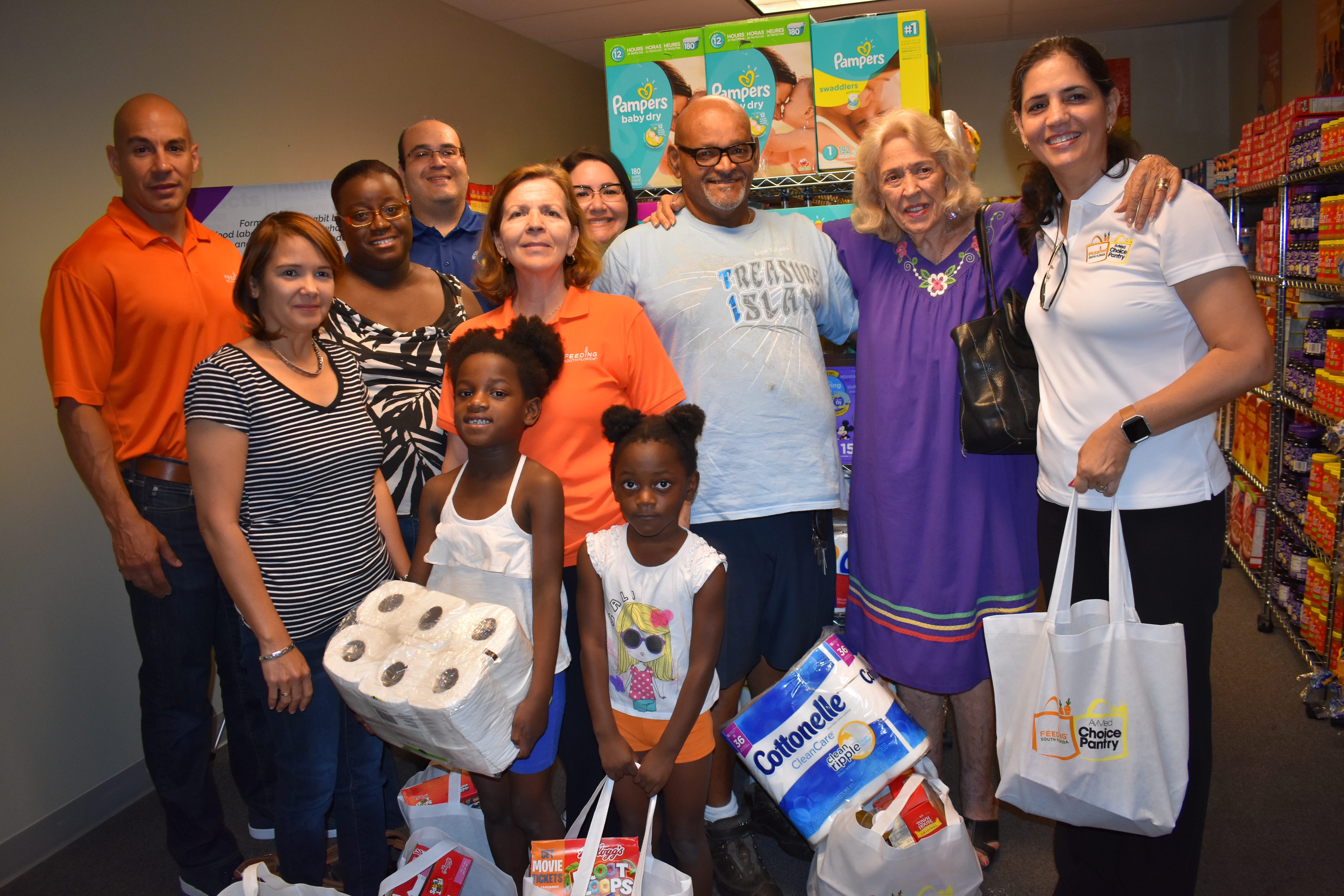 Feeding South Florida Launches its Choice Pantry Program