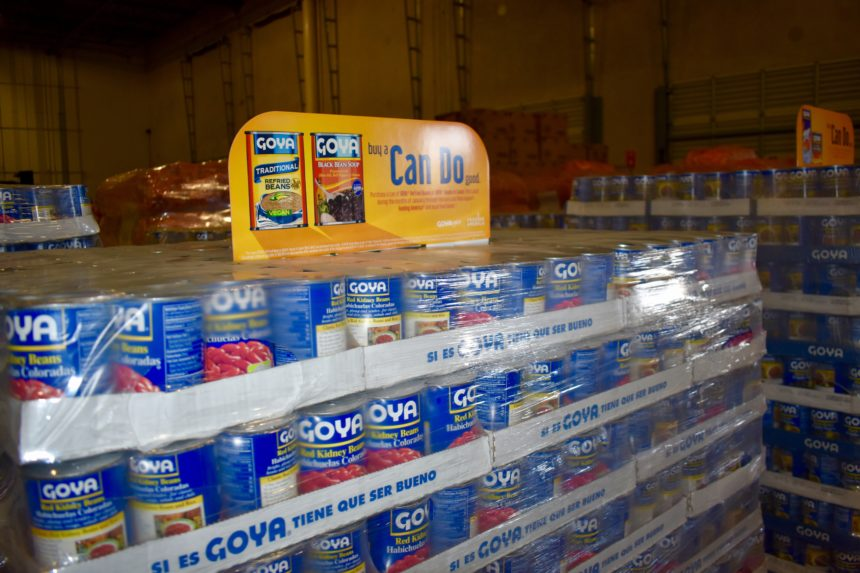 Goya donates over 30,000 pounds of food to Feeding South Florida