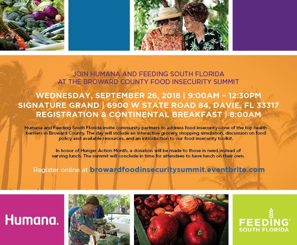 Broward County Food Insecurity Summit