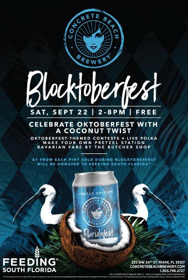 Concrete Beach Brewery 4th Annual Blocktoberfest