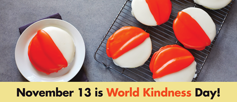November 13th is World Kindness Day