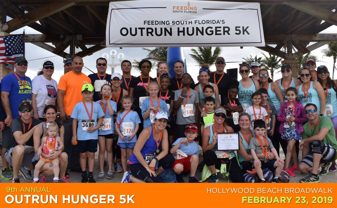 9th Annual Outrun Hunger 5K presented by JM Family Enterprises, Inc.