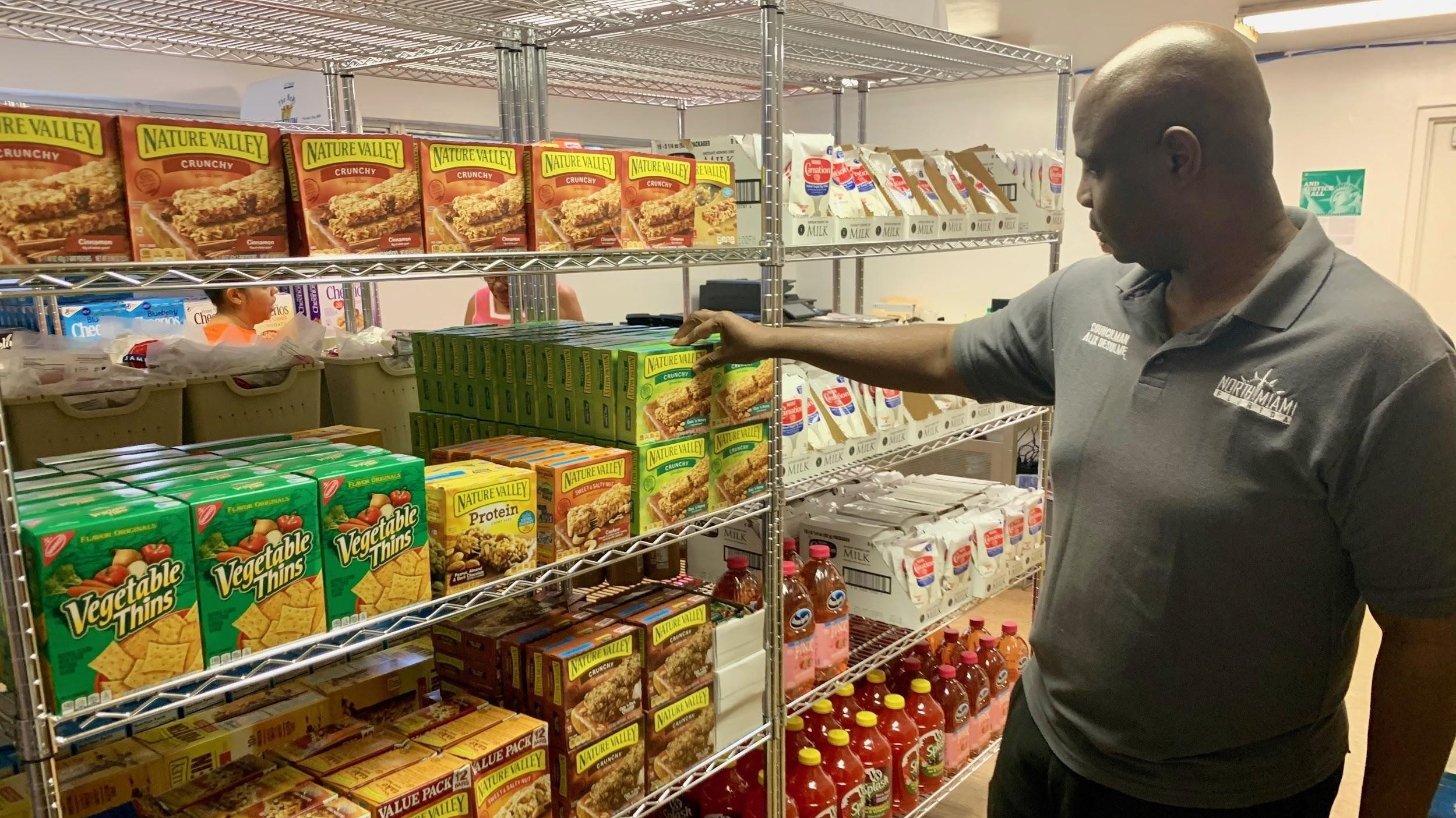 North Miami First to Open Government Funded Food Pantry