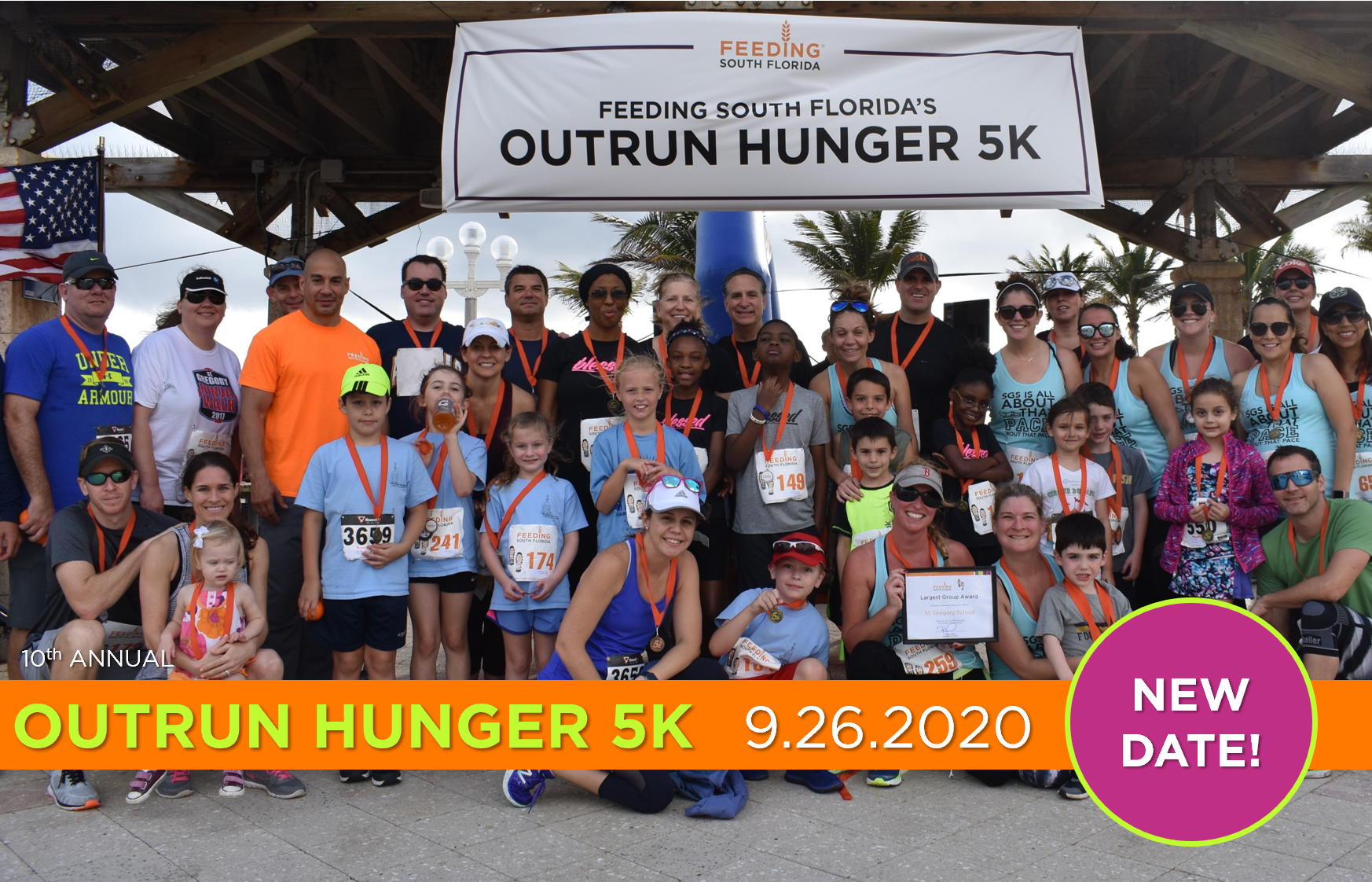 10th Annual Outrun Hunger 5K presented by JM Family Enterprises