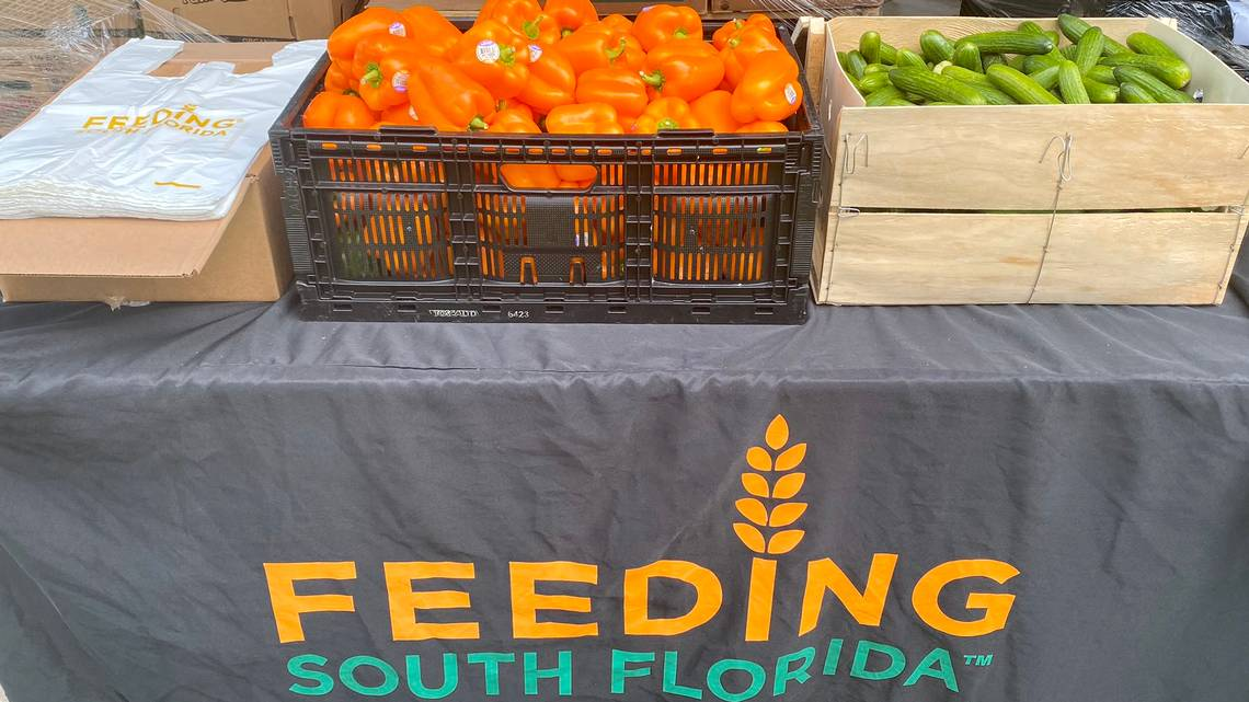 In North Miami, nearly 1 in 4 residents live in poverty. A new food pantry will feed them