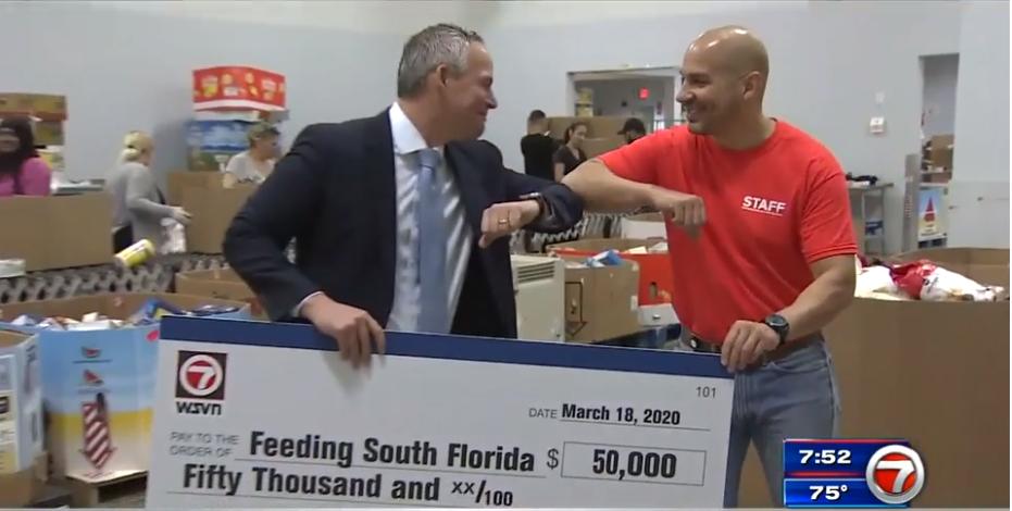 WSVN 7News Donates $50K