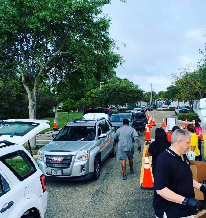 Free food distributed to 600 families in Delray Beach