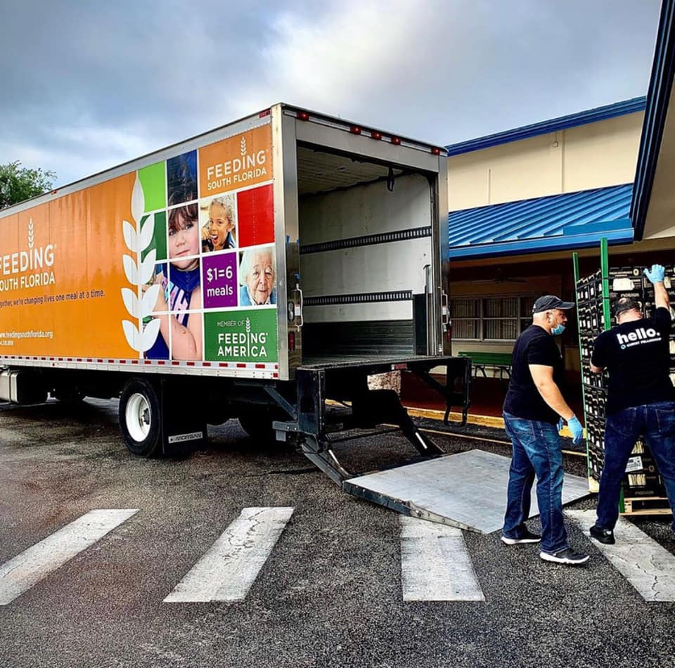 Food distributions continue to be much needed for families across South Florida
