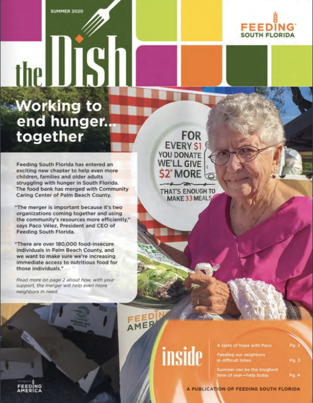 Feeding South Florida's The Dish Newsletter – Summer 2020