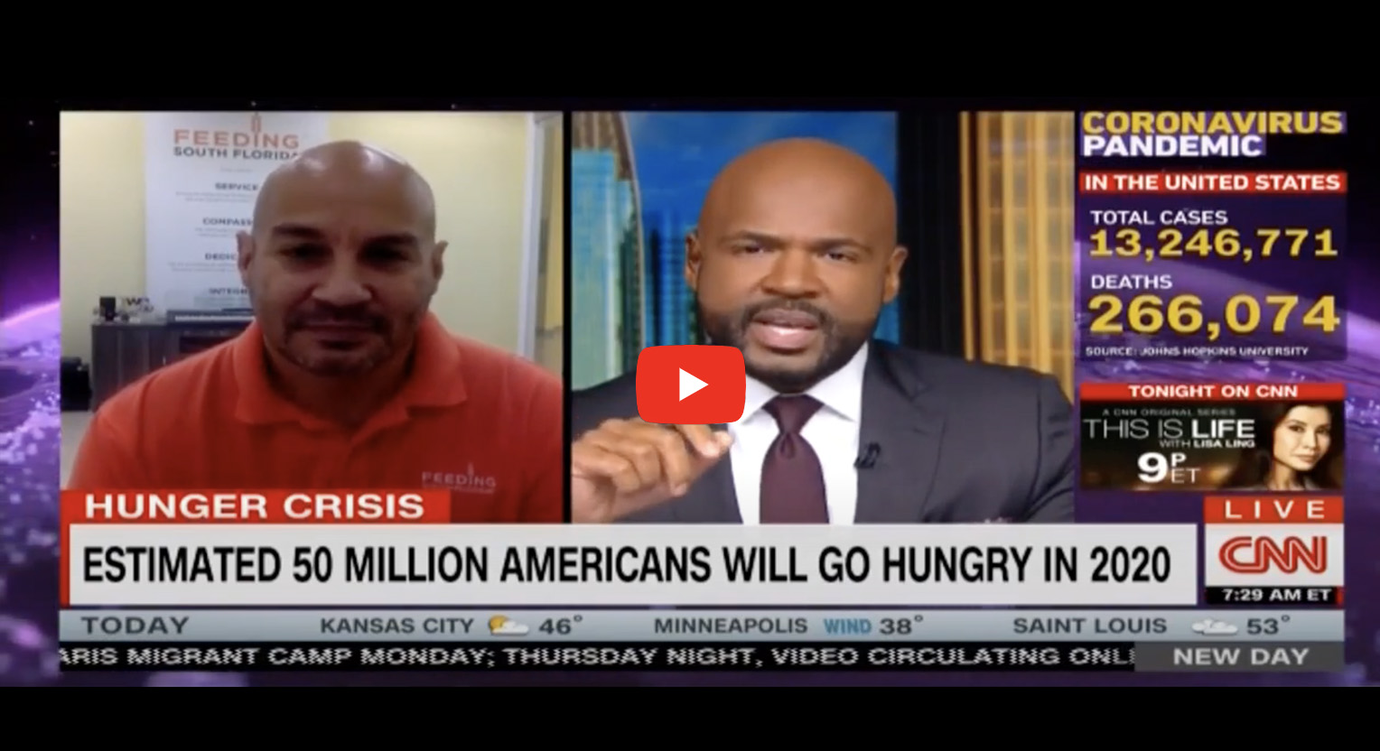 Video: CNN Speaks with Paco Vélez About Hunger in U.S.