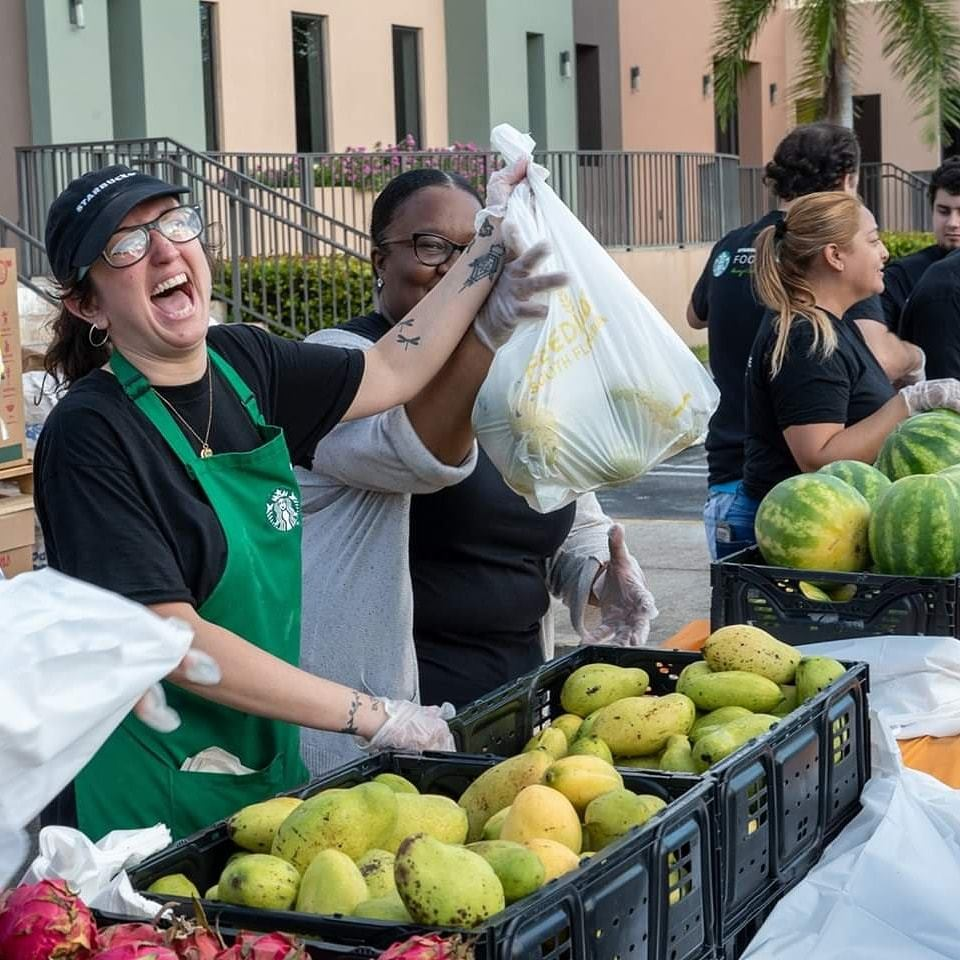 Starbucks Provides Equitable Food Access Grant to Feeding South Florida